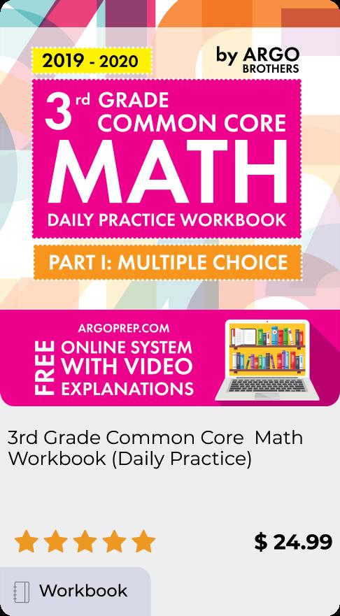 3rd Grade Common Core Math Workbooks
