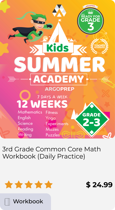 Kids Summer Academy Grades 2-3
