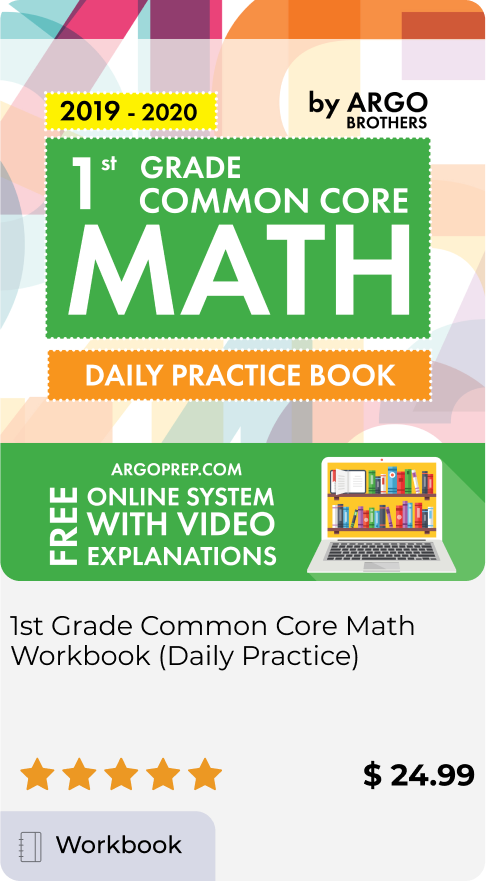 1st Grade Common Core Math Workbook