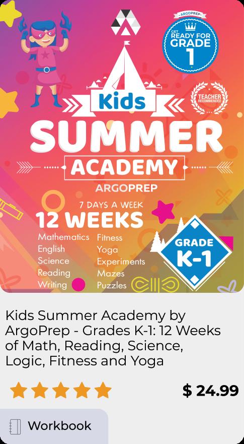 Kids Summer Academy Grade K-1