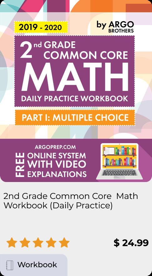 2nd Grade Common Core Math Workbook