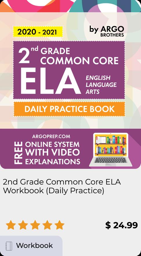 2nd Grade Common Core ELA Workbook